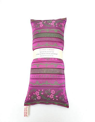 Lavendelkissen zum Schlafen mit Lavendelblüten aus Frankreich gefertigt aus Trachtenseide