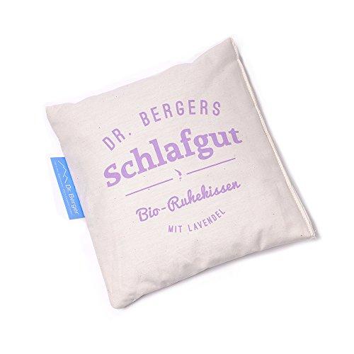 Original Dr. Berger Bio-Lavendelblütenkissen Schlaf gut 19x19cm